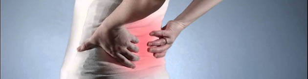 kidney stone pain lower back