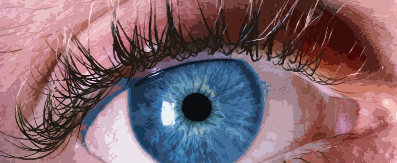 Close-Up Dry Eye