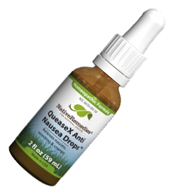 QueaseX Anti Nausea Drops - natural remedy for stomach flu