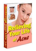 Relieving Acne Ebook cover