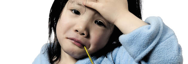 child with common cold