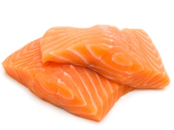 salmon slices to reduce cholesterol