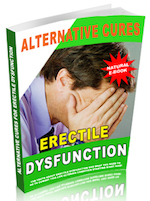 Alternative Cures for Erectile Dysfunction