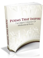 Poems that Inspire - motivational poetry - ebook cover
