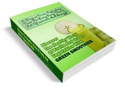 green smoothies ebook cover