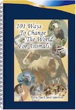 101 ways to change the world for animals