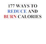 177 ways to burn calories