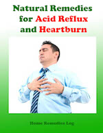 Natural Remedies for Acid Reflux and Heartburn-Ebook Cover