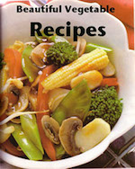 Vegetable recipes - ebook cover