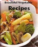 Vegetable recipes - ebook cover
