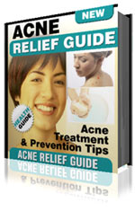acne relief guide - ebook cover