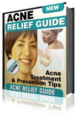 acne relief guide - ebook cover