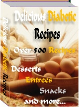 delicious diabetic recipes-ebook cover