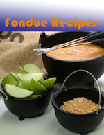 Fondue Recipes - ebook cover