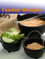 Fondue Recipes - ebook cover