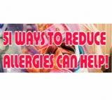 51 Ways to Reduce Allergies