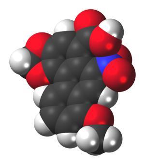 Aristolochic-acid-3D-molecule