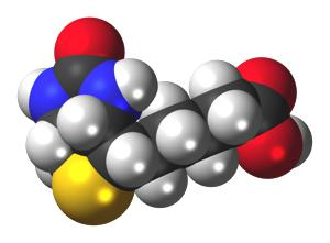 Biotin-3D-spacefill