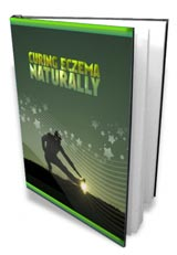 Curing Eczema Naturally - ebook cover