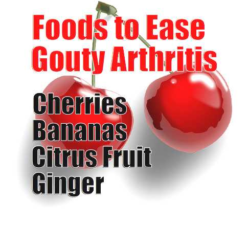 Foods for Gouty Arthritis - meme