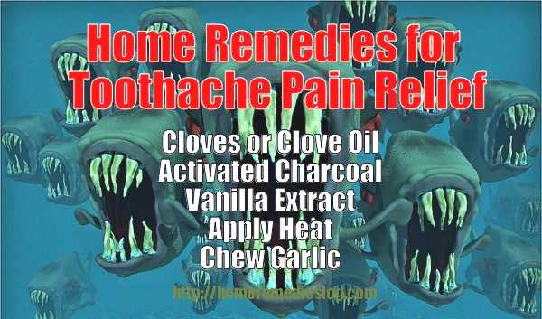 Home Remedies for Toothache Pain Relief - Meme