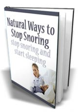 Natural Solutions for your Snoring Nightmare