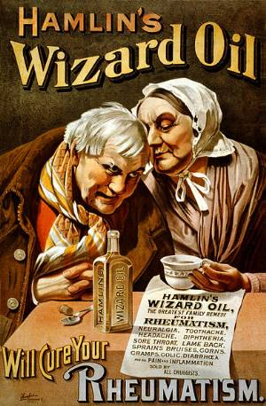 Hamlin's_Wizard_Oil_old home remedies poster