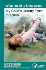 What I need to know about My Childs Urinary Tract Infection - ebook cover