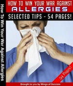 Win the War Against Allergies