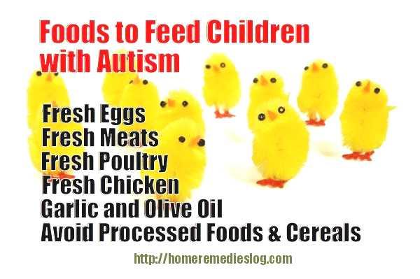 autism childs diet meme