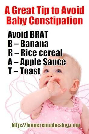 Tips to avoid baby constipation - meme