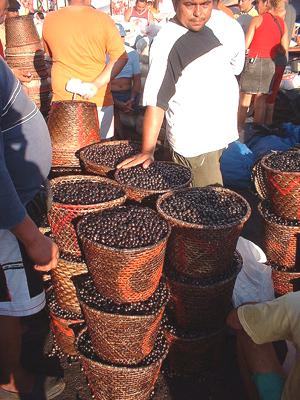 buckets of acai berries