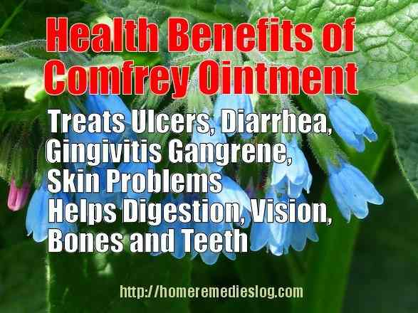 comfrey health benefits meme