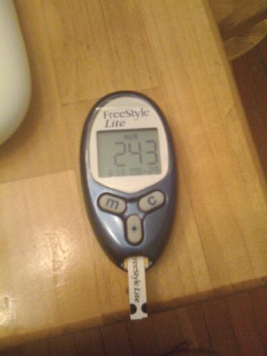 diabetic stop watch