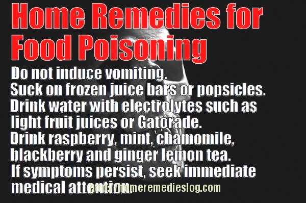 home remedies for food poisoning - meme