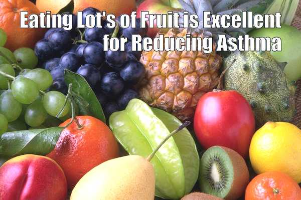 eat fruit for asthma remedy - meme