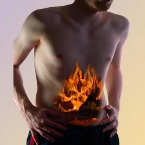 gassy fire tummy