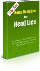 home remedies for head lice - ebook cover
