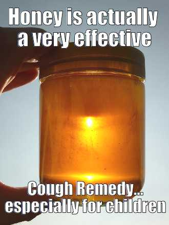 honey for cough