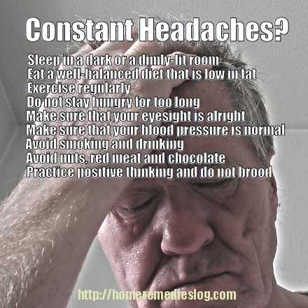 keep headaches away tips - meme