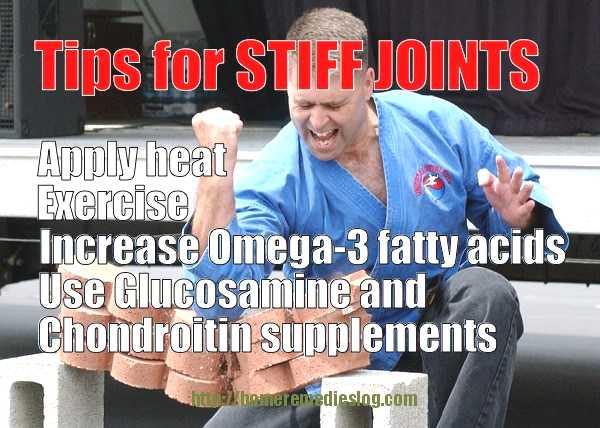 tips for stiff joints meme