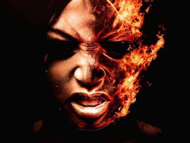 burningface